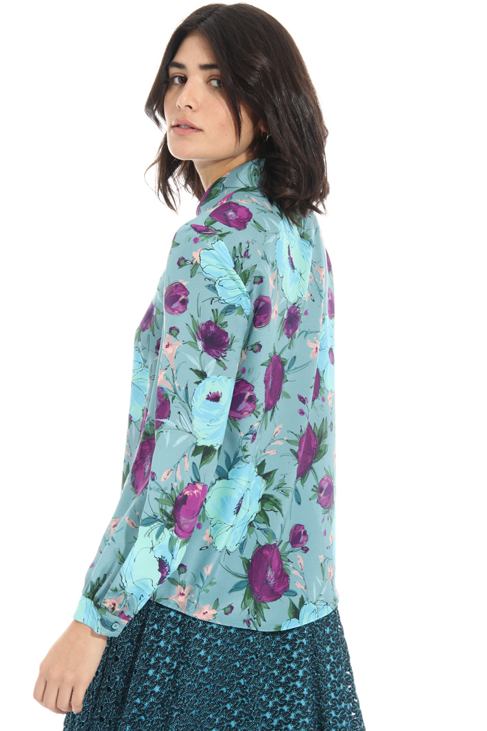 Covered button shirt Intrend