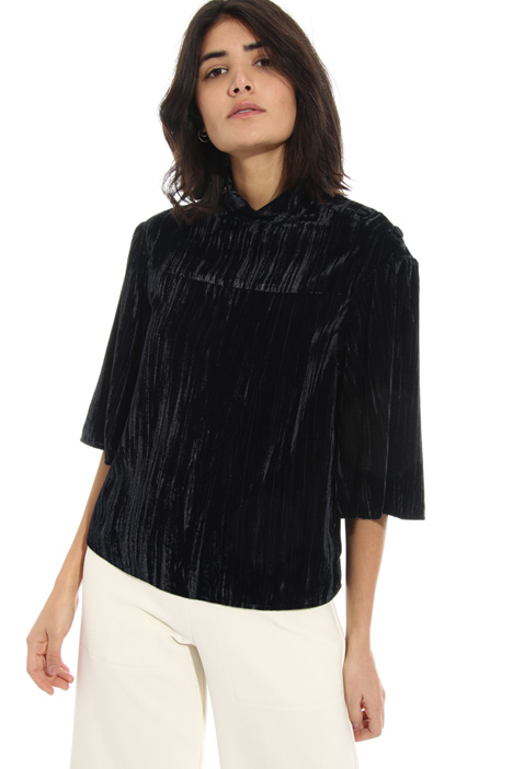 Velvet blouse Intrend