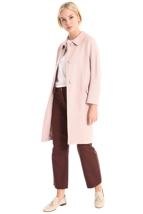 Linen and cotton coat Intrend