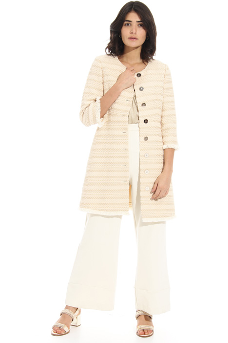 Woven cotton coat Intrend