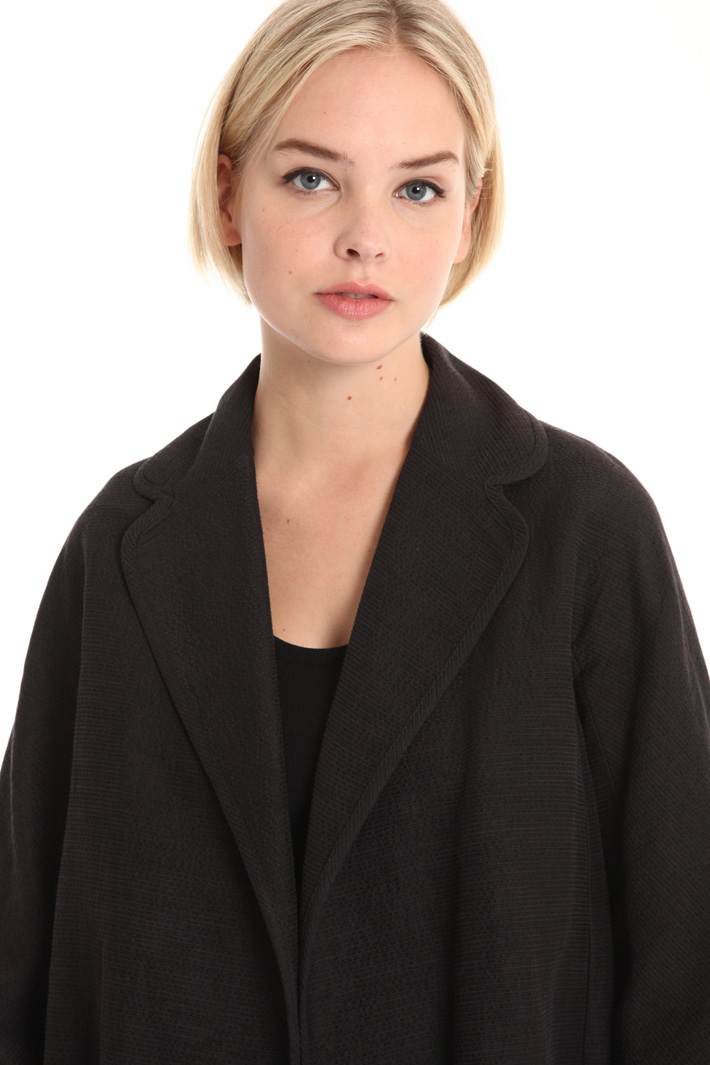 Cotton and silk coat Intrend