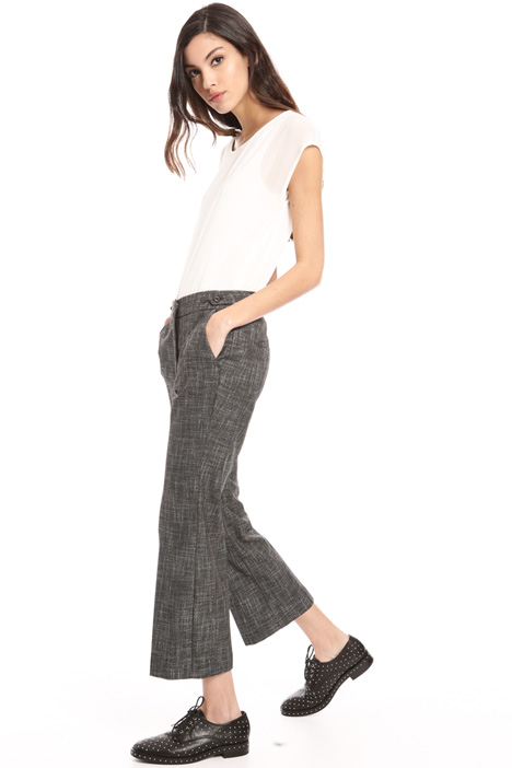 Flared crop trousers Intrend