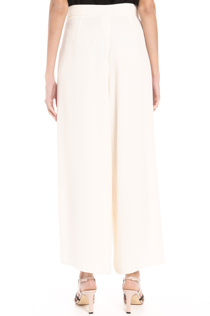 Flared cady trousers Intrend