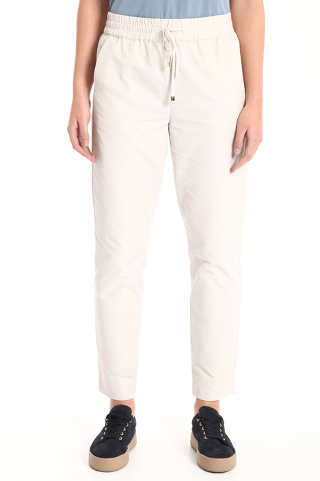 Relaxed fit cotton trousers Intrend