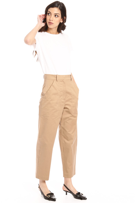 Four pocket cotton trousers Intrend