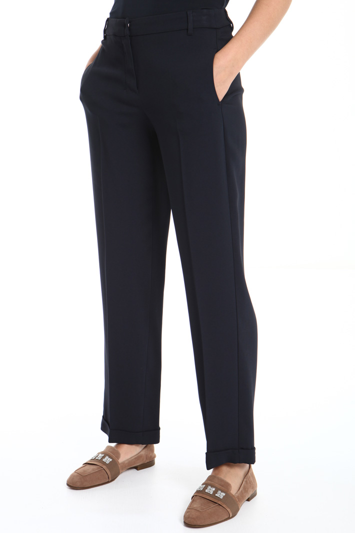 Viscose cady trousers Intrend