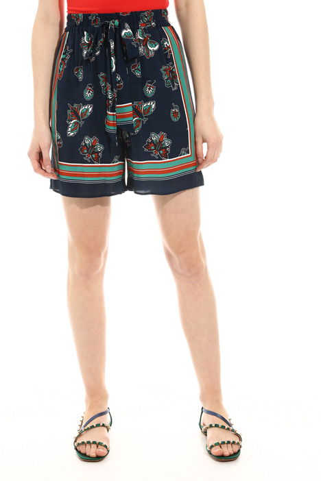 Fluid twill shorts Intrend