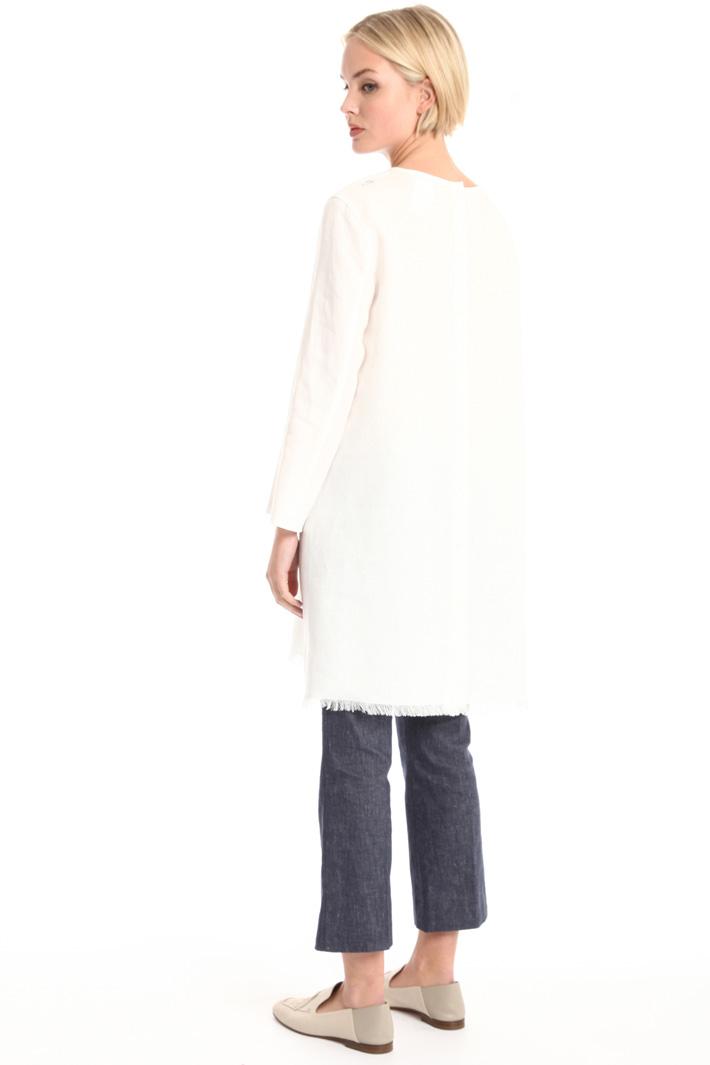 Long linen tunic Intrend