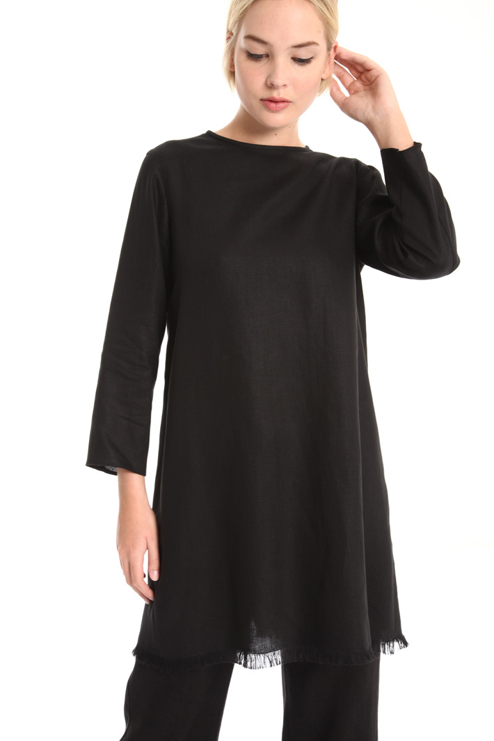 Long linen tunic Intrend