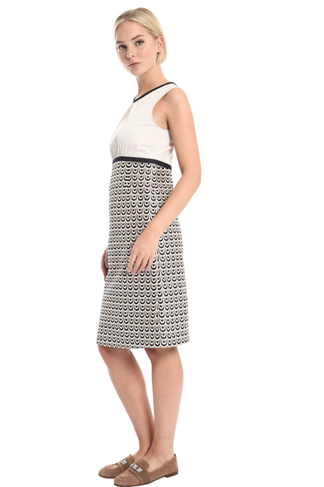 Jacquard dress Intrend