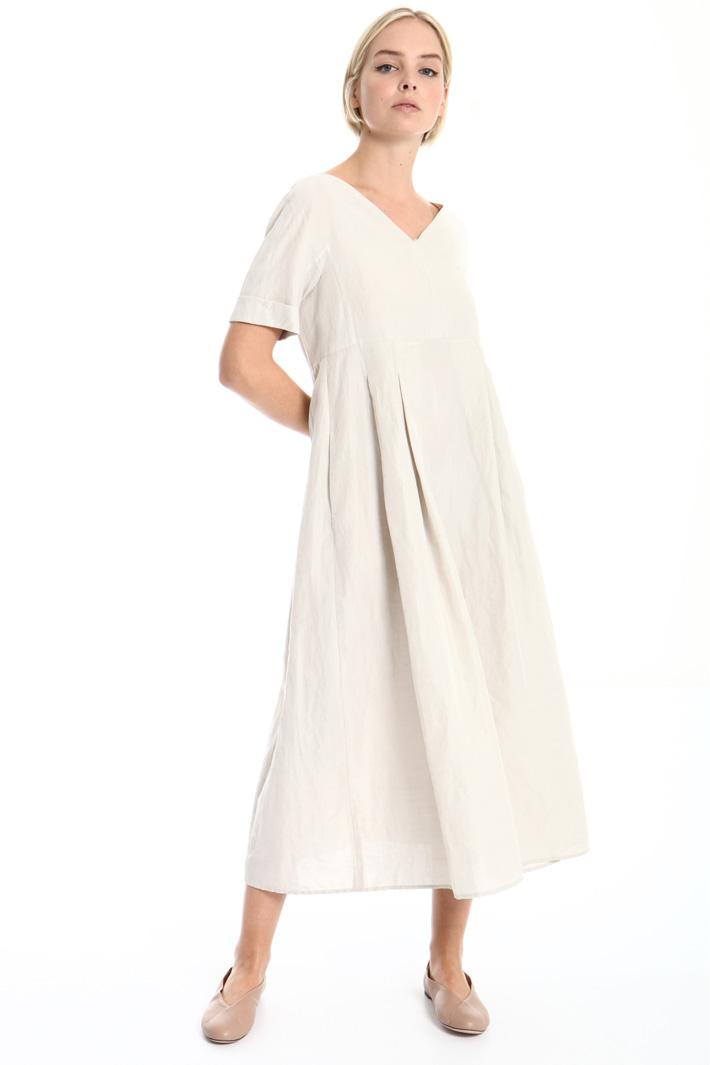 Ramie blend dress Intrend