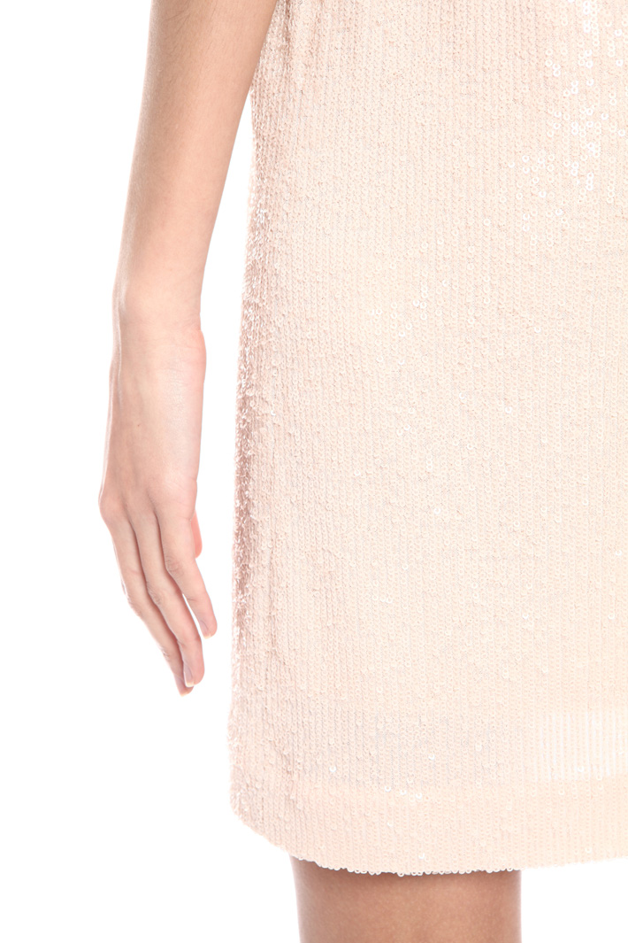 Sequin tulle dress Intrend