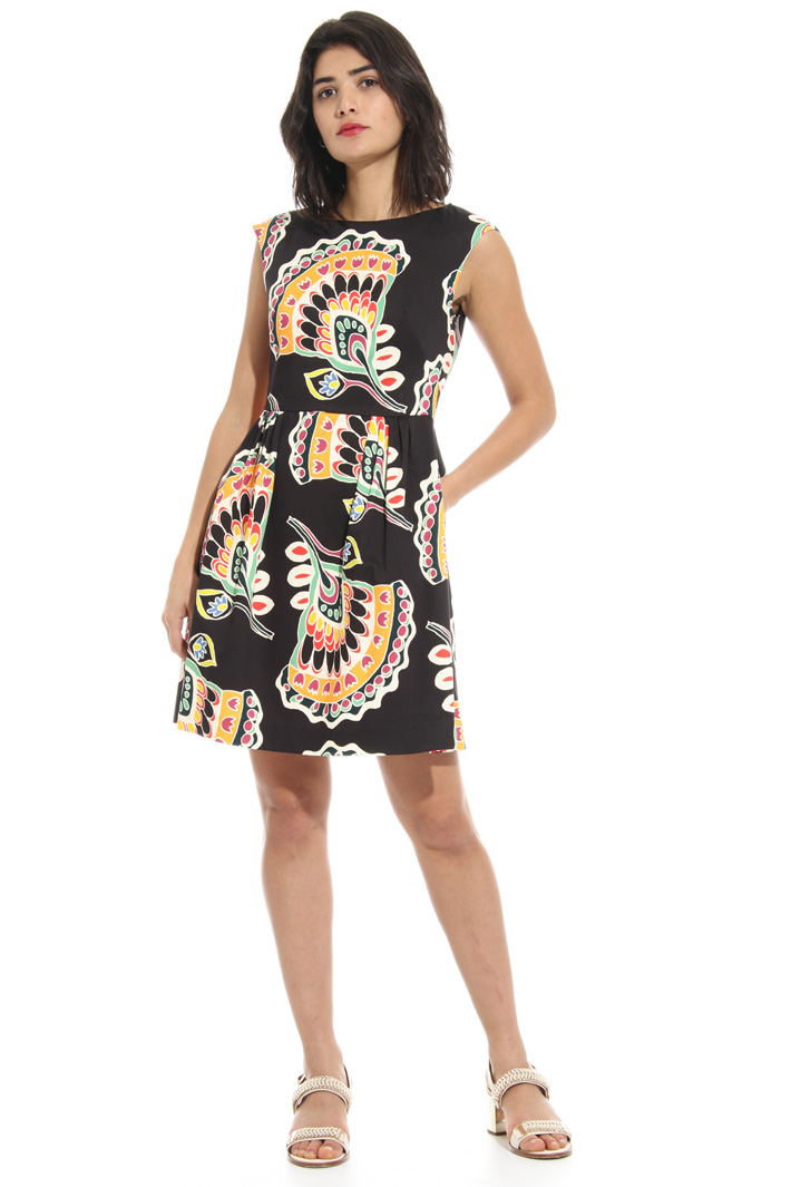 Cotton stretch dress Intrend