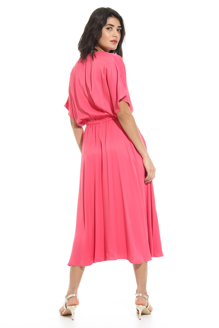 Midi satin dress Intrend