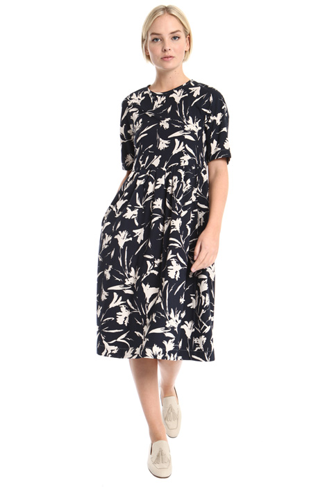 Printed cotton dress Intrend