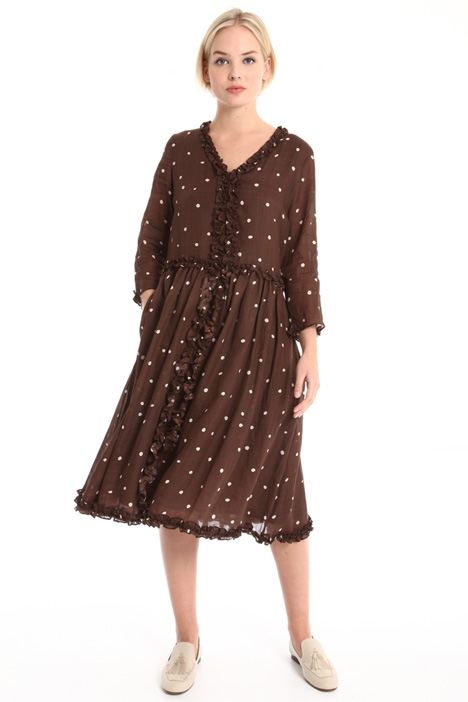 Oversized ramie dress Intrend