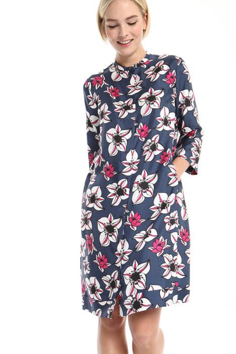 Pure silk twill dress Intrend