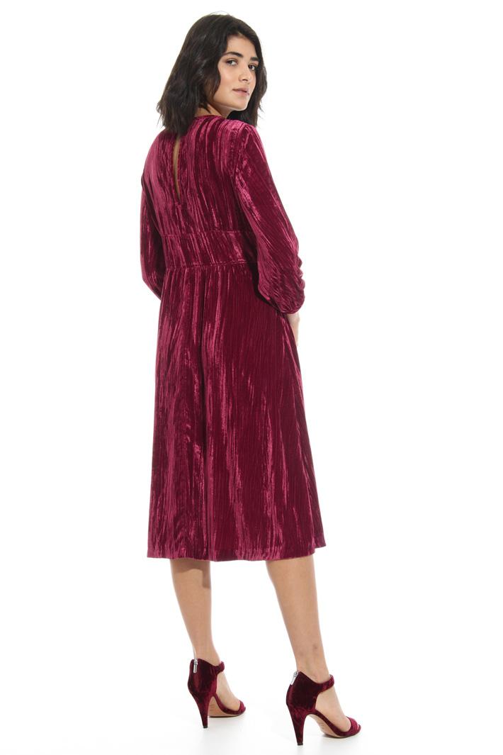 Velvet effect dress Intrend