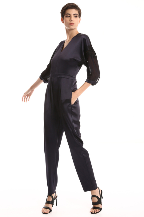 Silk and georgette jumpsuit Intrend