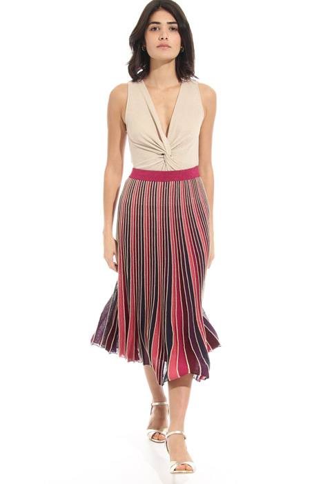 A-line pleated skirt Intrend
