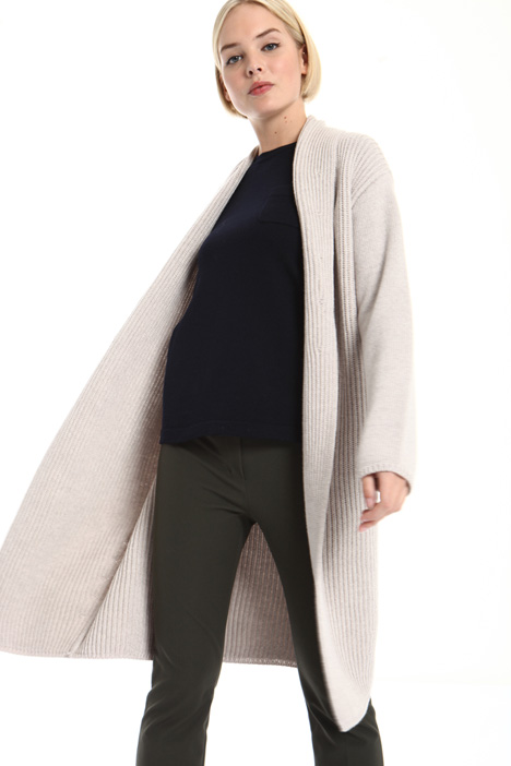 Long pure wool cardigan Intrend