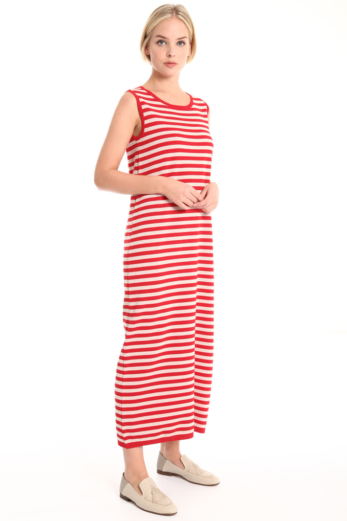 Knitted cotton dress Intrend