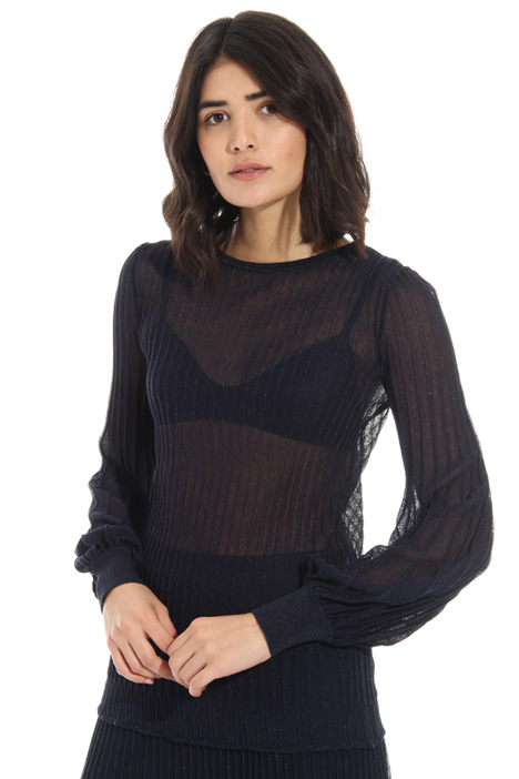 Pleated effect sweater Intrend