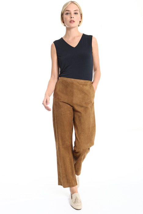 Leather trousers Intrend