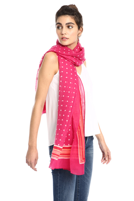 Micro plissé scarf Intrend