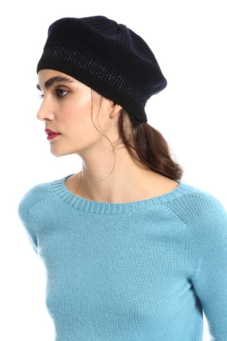 Lurex yarn beret Intrend