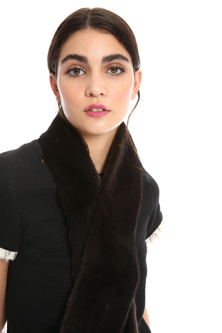 Mink scarf Intrend