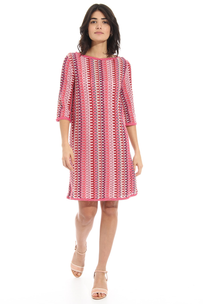 Jersey and cotton dress Intrend