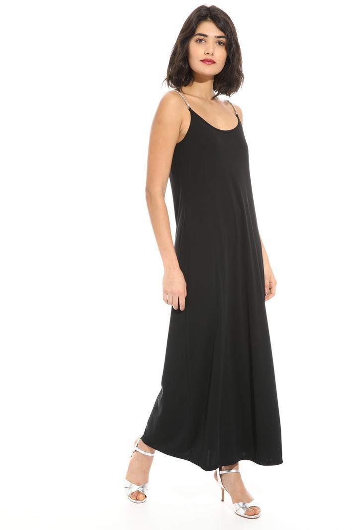 Jersey crepe stretch dress Intrend