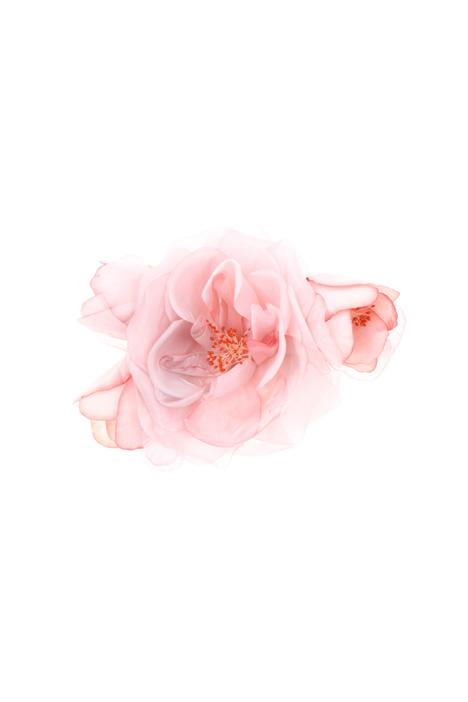 Organza floral brooch Intrend