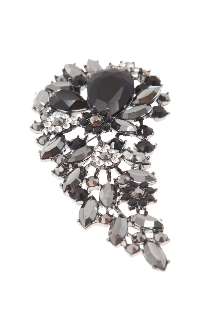 Rhinestone brooch Intrend