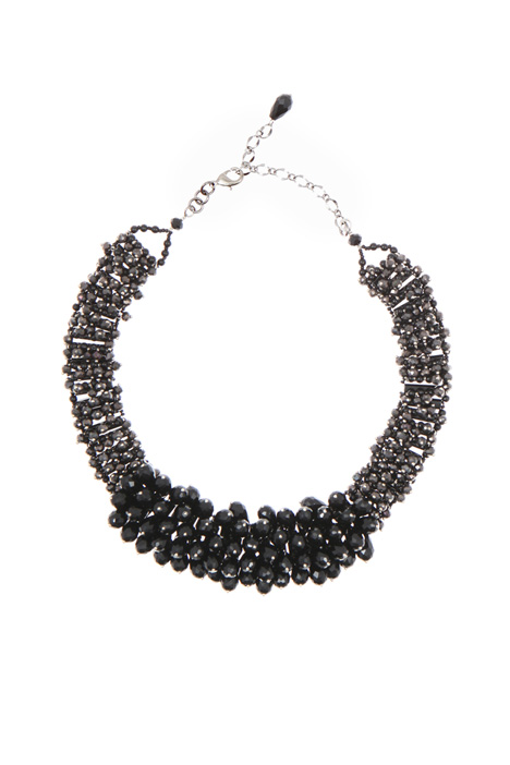 Rhinestone chocker necklace Intrend