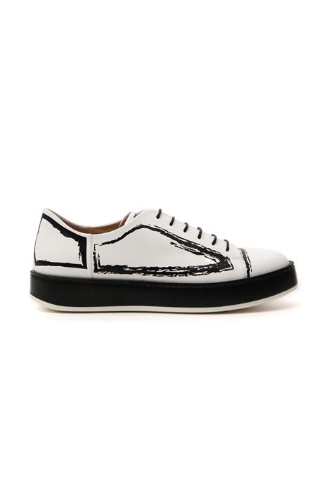 Sneakers in pelle Intrend