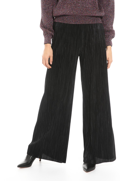 Jersey plissé trousers Intrend