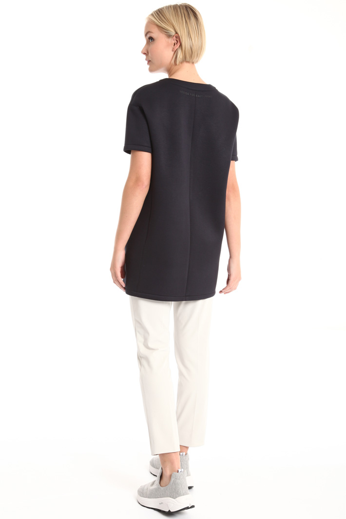 Compact jersey tunic Intrend