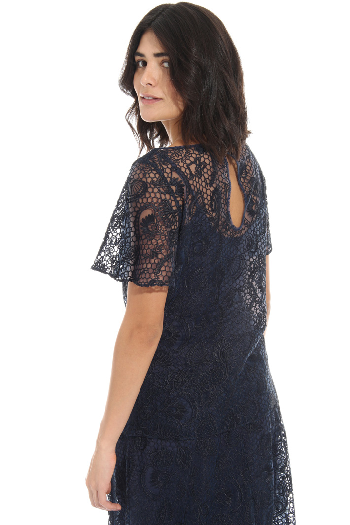 Embroidered tulle tunic Intrend