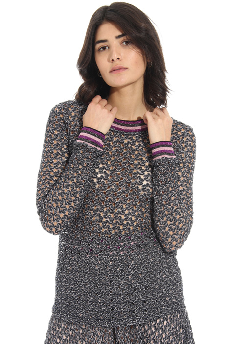 Lace effect sweater Intrend