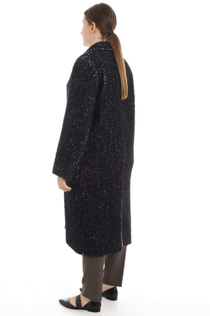 Wool blend coat Intrend