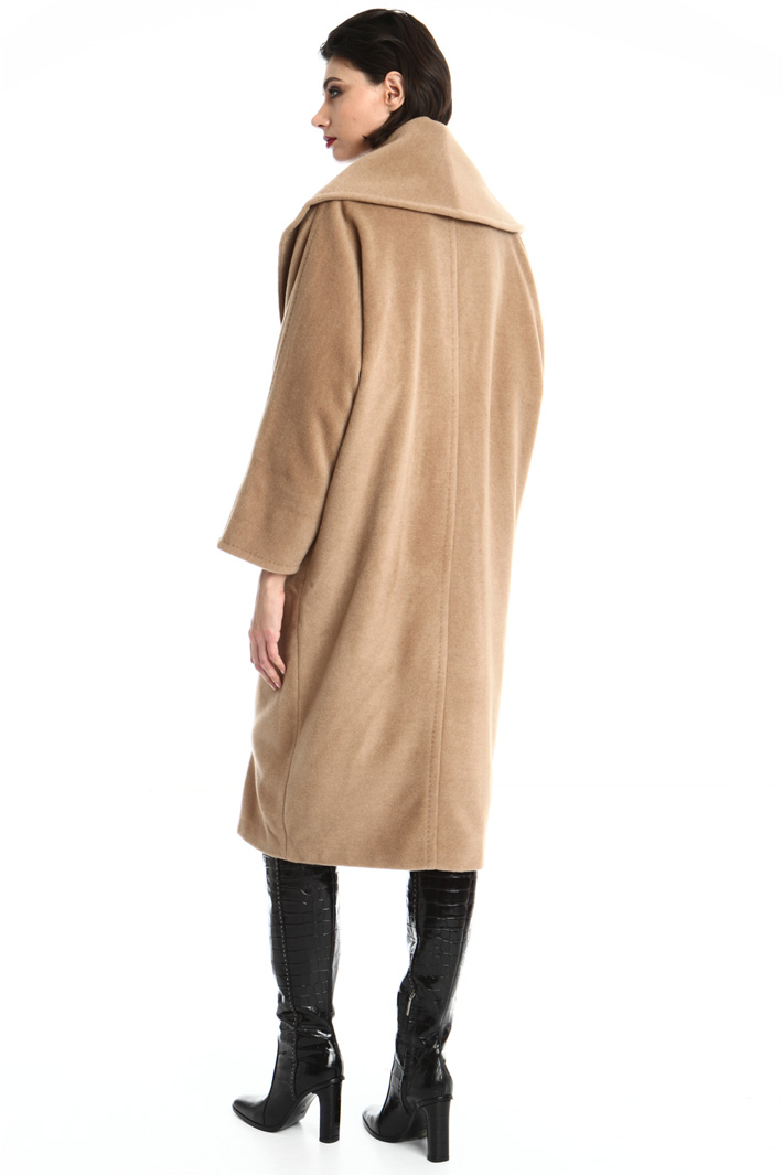 Camel coat Intrend