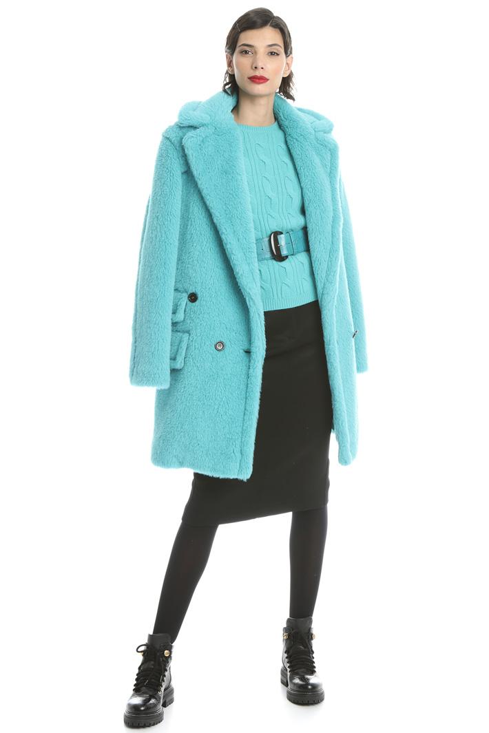 Alpaca, wool and silk coat Intrend