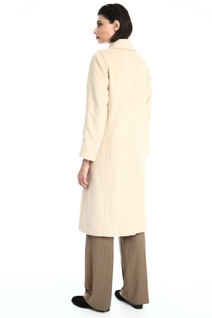 Long camel coat Intrend