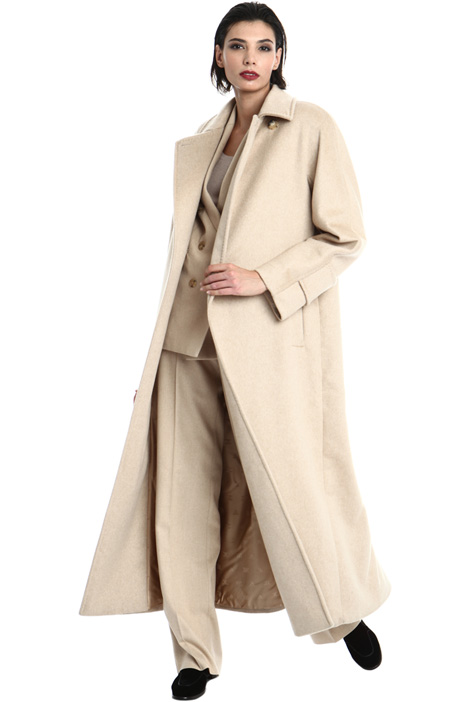 Cappotto in misto cammello Intrend