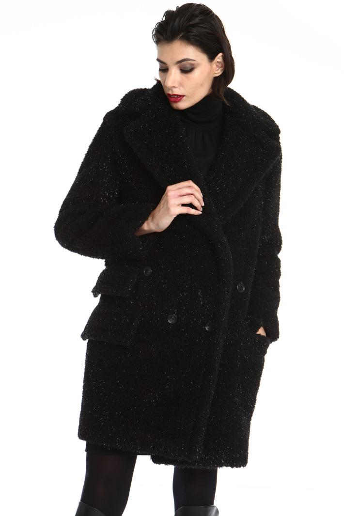 Teddy bear camel coat Intrend