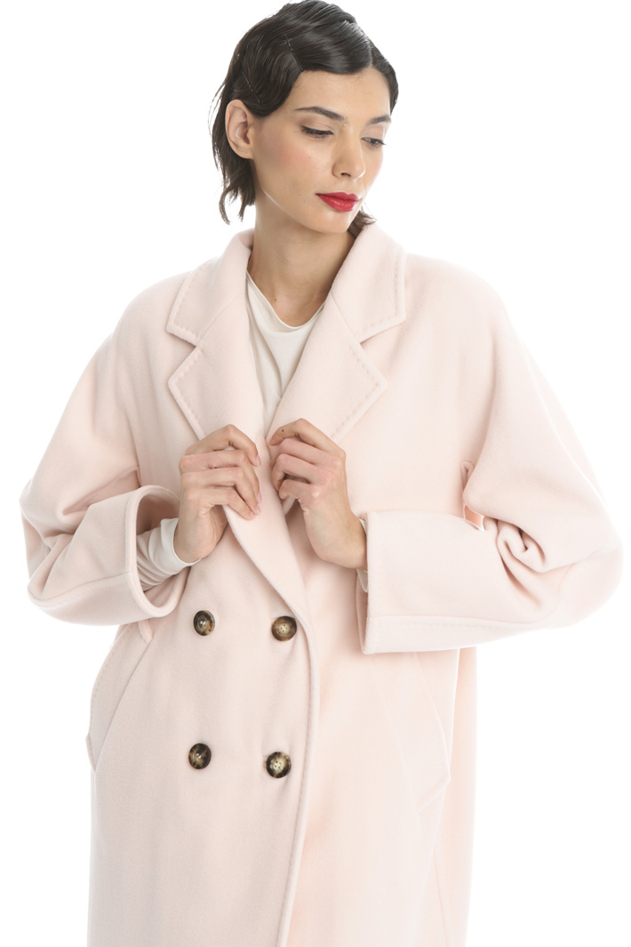 Double-breasted cashmere coat Intrend