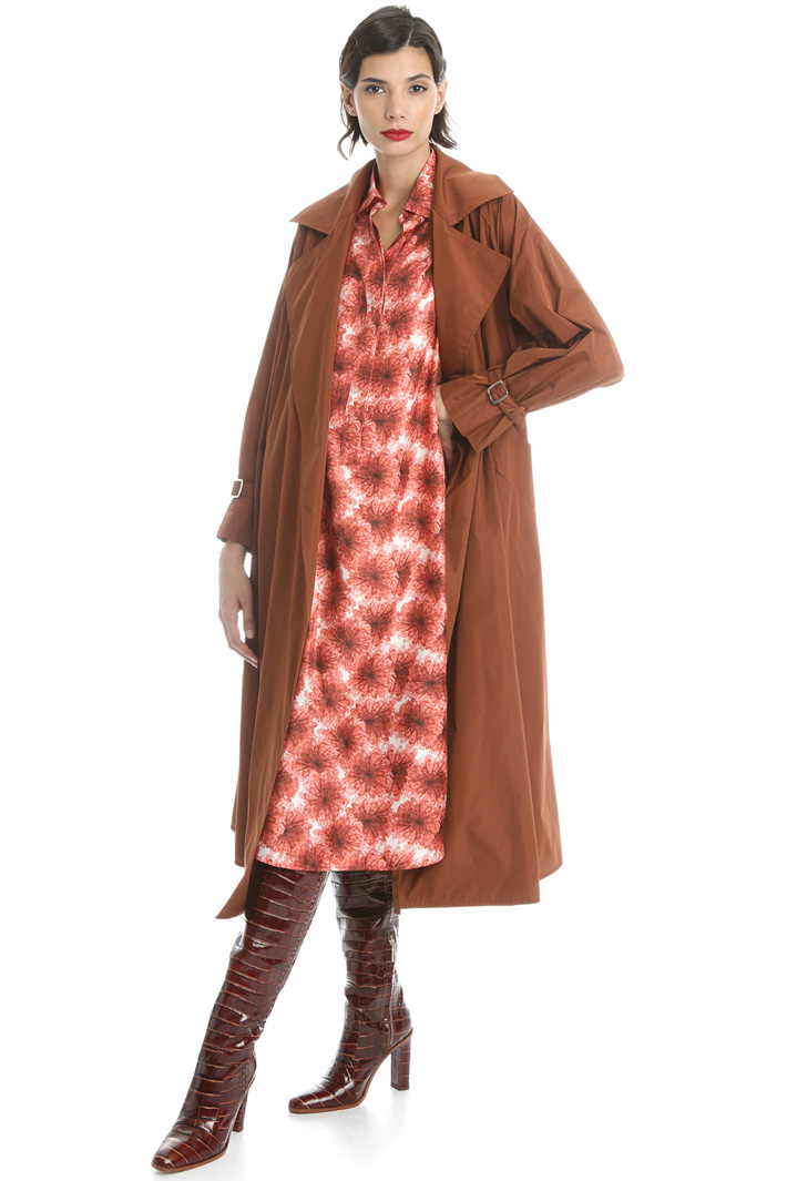 Taffeta raincoat Intrend