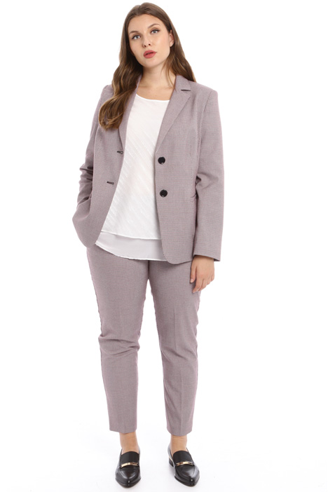 Stretch canvas blazer Intrend